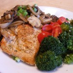 Blueberry-Pancakes-and-Mushroom-amp-Shallot-Chicken-014