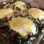 Mushroom-and-Spinach-Baked-Eggs-ready-to-eat
