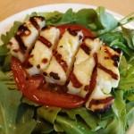 Grilled-Halloumi-Cheese-Salad