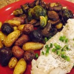 Cod-Roast-Brussels-Roast-Fingerlings