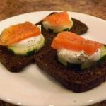 Salmon-and-Cucumber-Bites