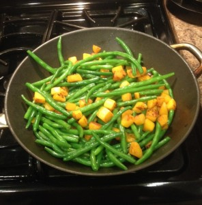 Green Beans and Butternut Squash